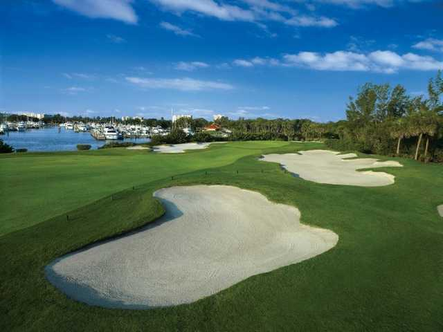 A view of a fairway at The Resort at Longboat Key Club