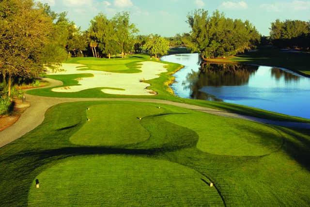 A view from a tee at Longboat Key Club & Resort