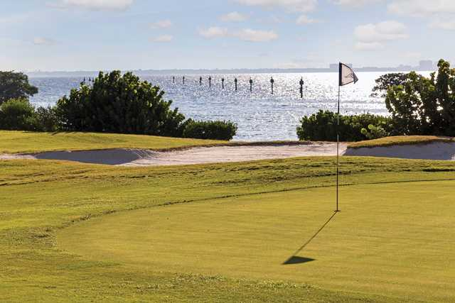 A view of a hole at Longboat Key Club & Resort