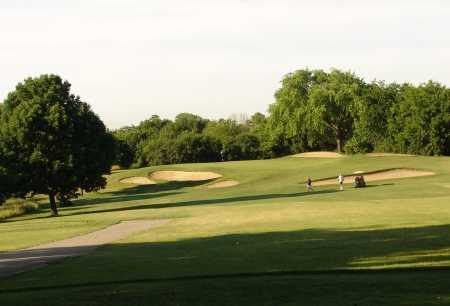 A view of the 8th hole at Maplecrest Country Club