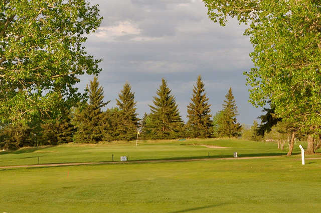A view from a fairway at Fort in View Golf Club