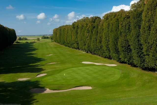 A view of green #16 at Licorne Course from Raray Golf Club