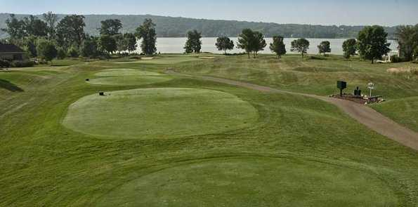 A view from hole #16 at Geneva National Golf Club - Palmer Course