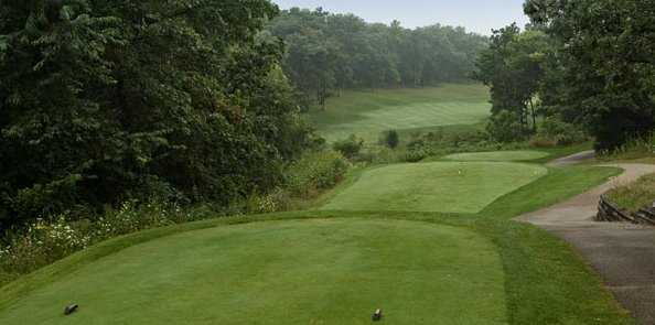 A view from the 5th green at Geneva National Golf Club - Trevino Course
