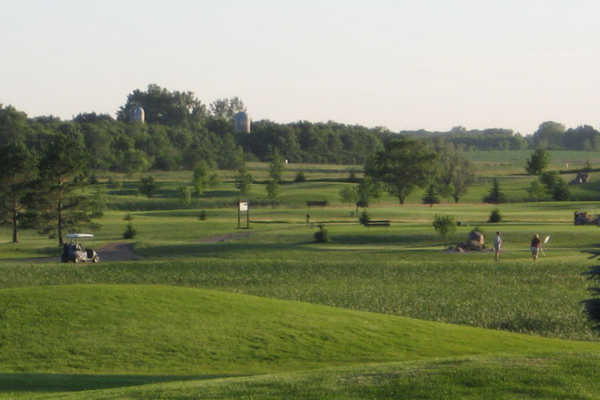 A view from Meadow Creek Golf Course