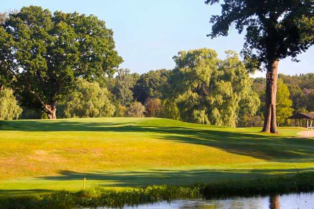 A view over the water from Christiana Creek Country Club