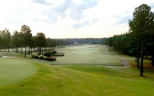 A view from Isabella Golf Course