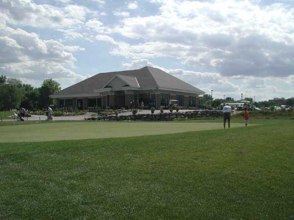 A view of the clubhouse at Bridges Golf Course