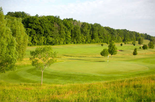 A sunny view from Mayville Golf Club