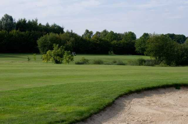 A view of a fairway at Foret Verte Golf Club