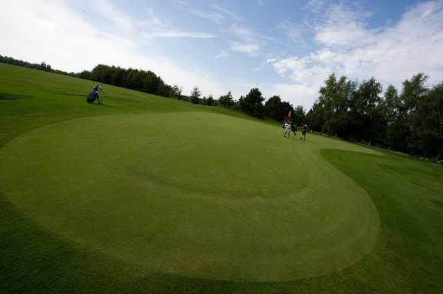 A view of a green at Foret Verte Golf Club