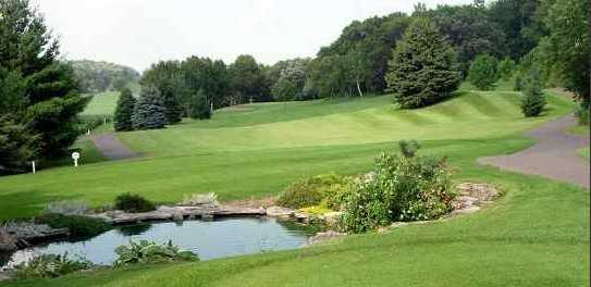 A view of the 14th hole at Clifton Highlands Golf Course