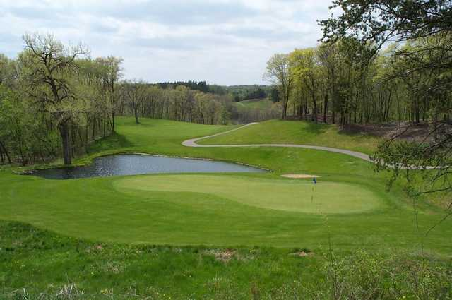 A view of green #2 at St. Croix National Golf Club