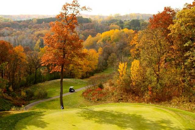 Autumn view from St. Croix National Golf Club