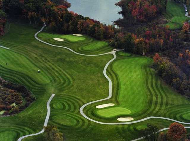 Aerial view from Autumn Ridge Golf Course