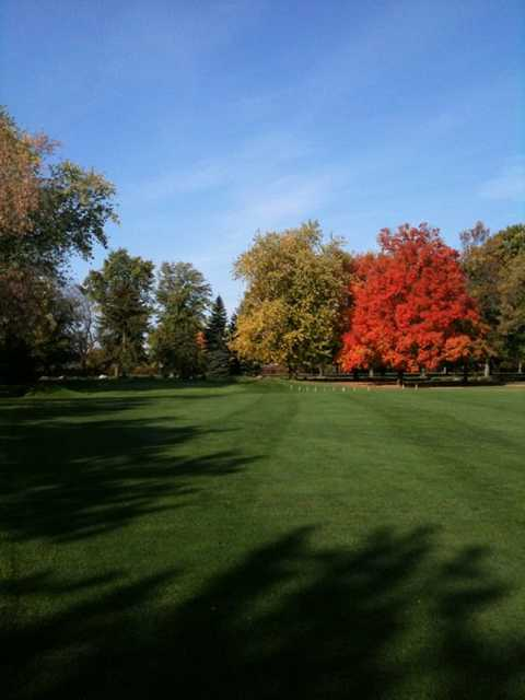 A fall view from Rivermoor Country Club