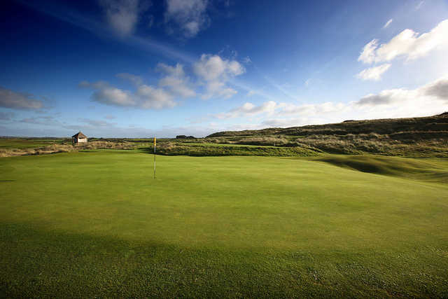 A view of hole #10 at Mussenden from Castlerock Golf Club