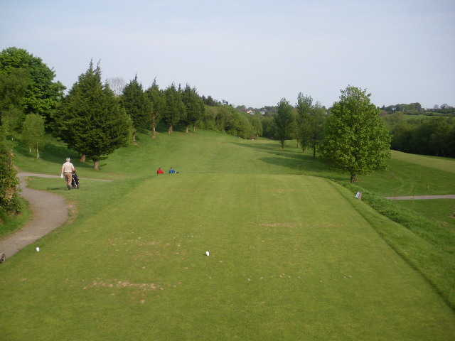 A view from the 7th tee at Kilrea Golf Club