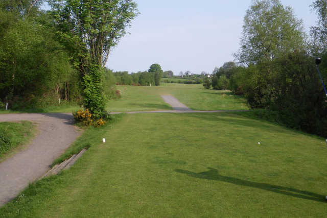 A view from the 9th tee at Kilrea Golf Club