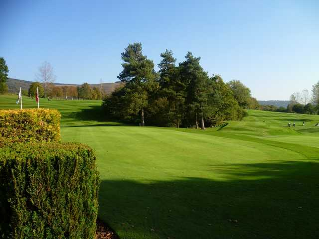 A sunny day view from Aberdare Golf Club