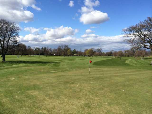 A view of a hole at North Inch Golf Club