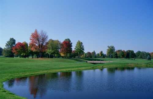 A view from Tannenhauf Golf Club