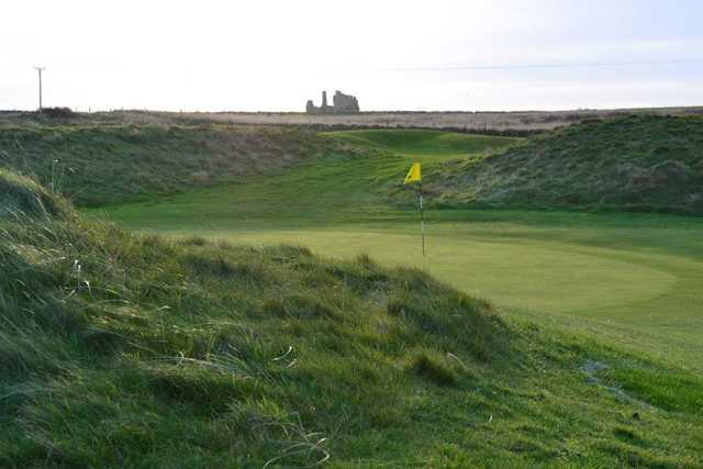 A view of the 3rd green at Rosehearty Golf Club