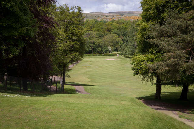 A view from tee #1 at Dalmuir Municipal Golf Course