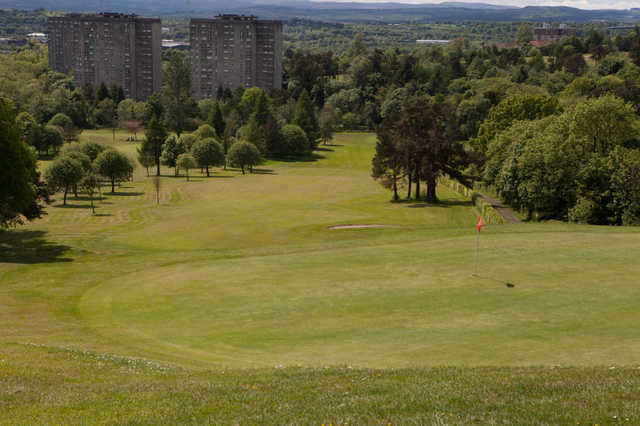 A view of hole #13 at Dalmuir Municipal Golf Course
