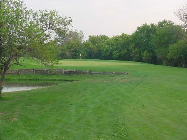 A view of green #9 at Turkey Creek Golf Course