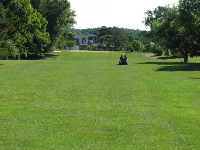 A view of the 8th fairway at Valley View Club