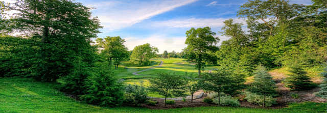 A view from Bunker Hill Golf Course