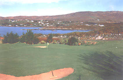 A view of a green at Coosheen Golf Club (Westcorkweb)