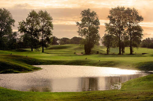 A view of the 18th green at Turvey Golf and Country Club (EIGCA)