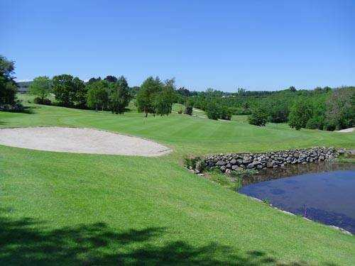 A sunny day view from Glen Mill Golf Club