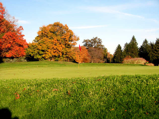 A fall view of green at Barberton Brookside Country Club