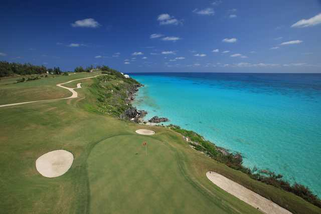 View of the 16th hole at Port Royal Golf Course