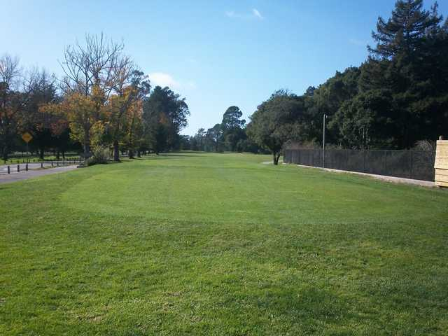 A view of a tee at DeLaveaga Golf Course & Lodge