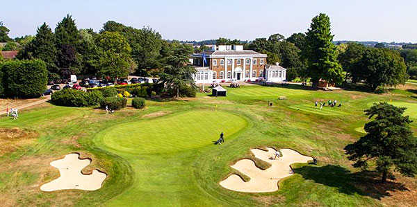 Hadley Wood GC: The clubhouse