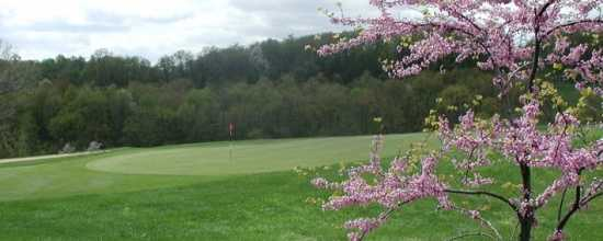 A view of the 7th green at Butler's Golf Course - Lakeside Course