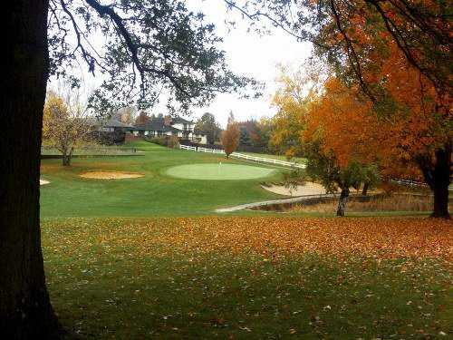 A fall view from Wildwood Golf Course