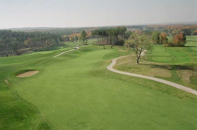 Settler's Ghost: View from the par-4 361yd 17th hole