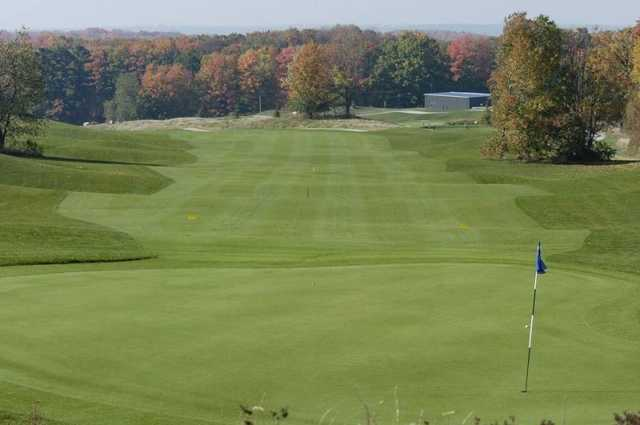 Settler's Ghost: View from the par-5 561yd 15th hole