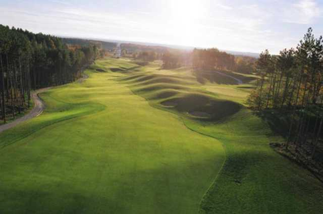 Settler's Ghost: View from the 8th hole