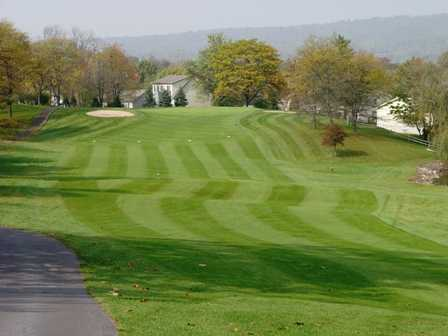 A view of the 1st hole at Valley Green Golf Course