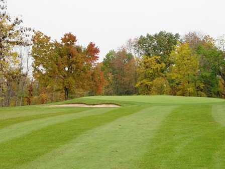 A view of green #14 at Valley Green Golf Course