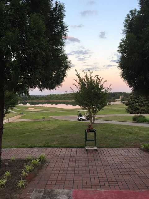 Sunset view from Southland Golf & Country Club