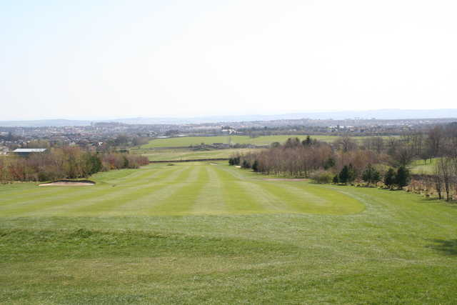 A view of a fairway at Wee Braids Golf Course (Edinburghleisure)