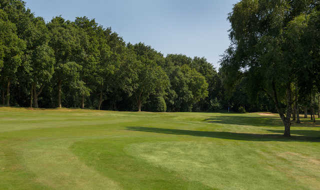 A look at the 15th hole at Old Fold Manor
