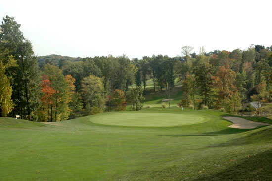 A view from Pheasant Ridge Golf Club